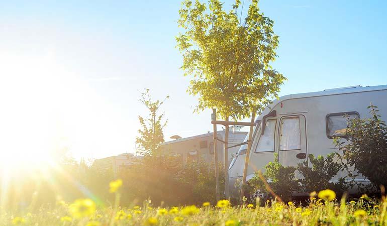 Satellite dishes, caravans & trailers